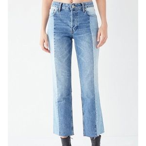 BDG High-rise Straight + Narrow Jean - UO